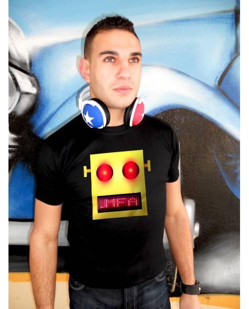 T Shirt Robot LMFAO