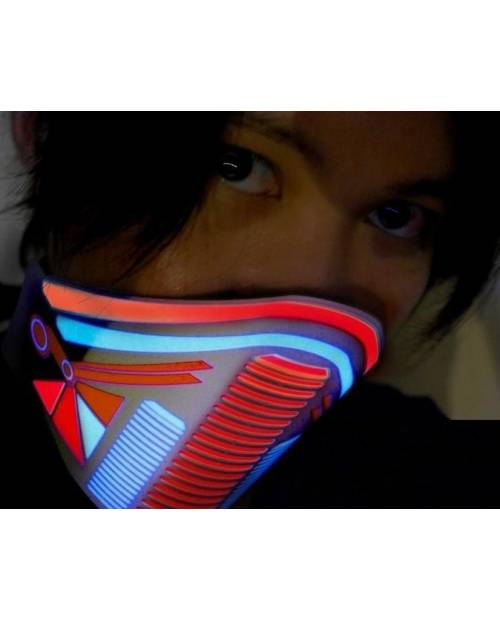 "Led mask ""Gas"" Heart Jacking"