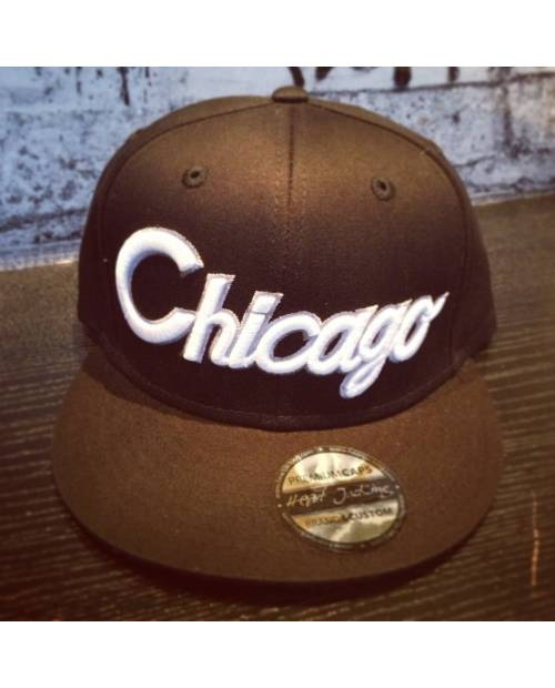 Snapback Chicago Grise