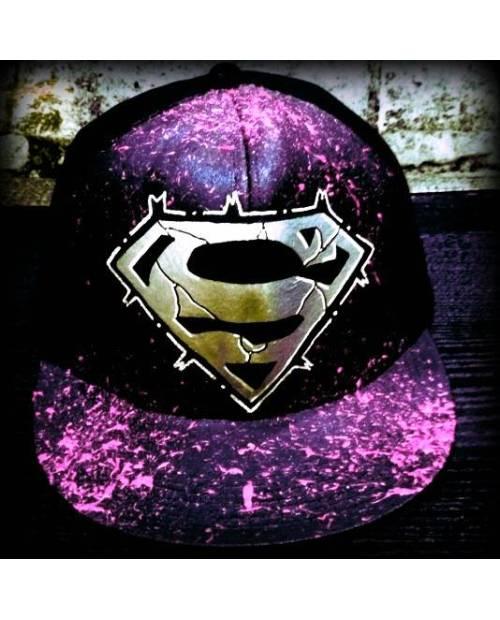 Casquette Superman Personnalisable