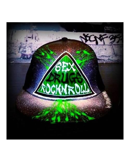 Stylish Green Cap NY
