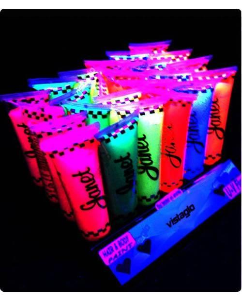 Body Paint Fluorescent: Fluorescent Cream
