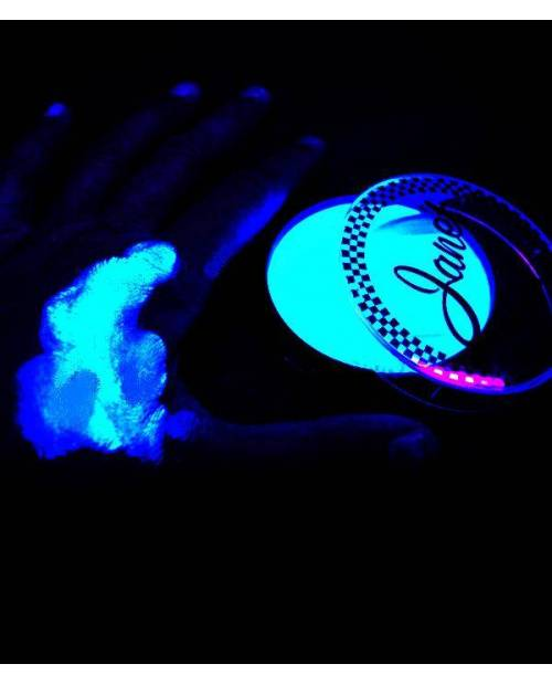 Body Painting Fluo Color Blue