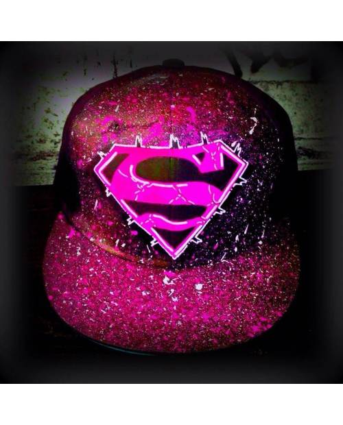 Casquette Street Art Superman