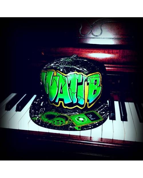 Casquette Hip Hop Wati B Graff A Personnaliser !
