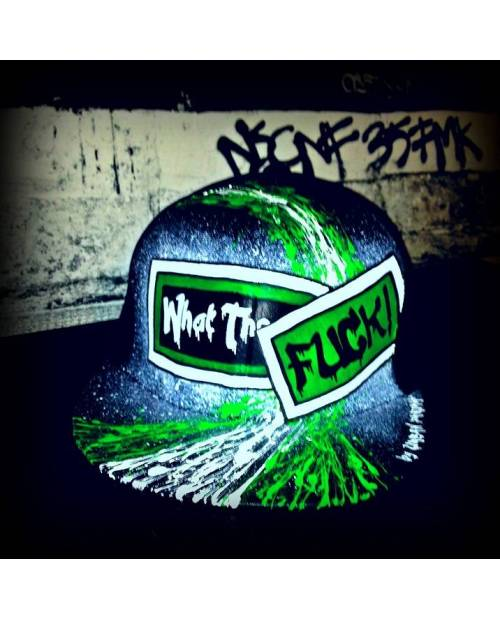 Casquette What The Fuck Sur Mesure