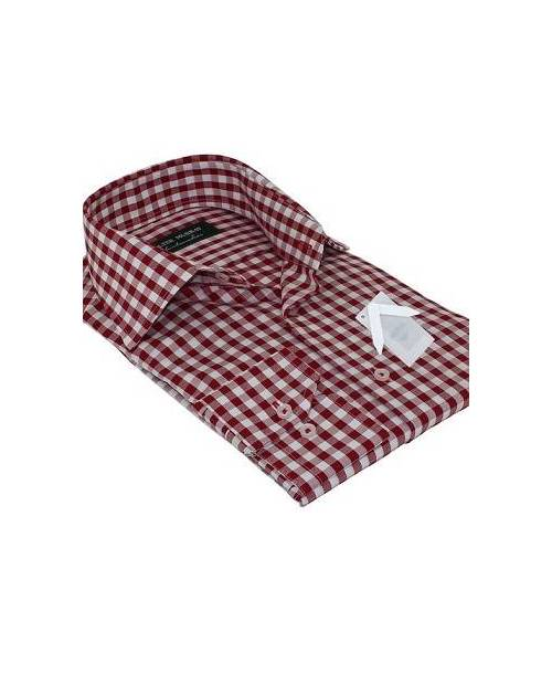 Chemise Rouge Homme