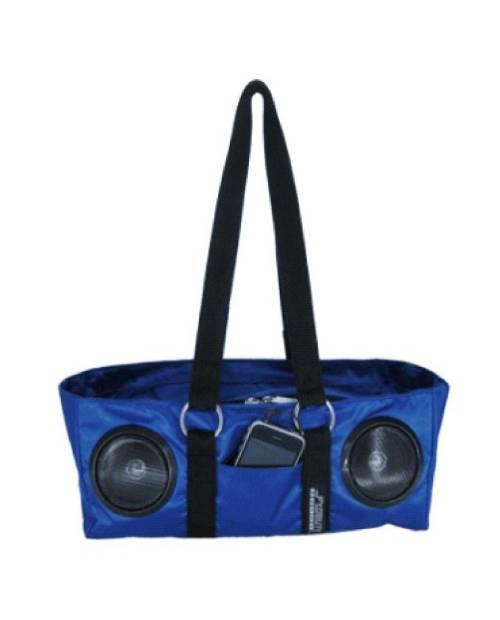 Fydelity Peacock Slider Stereo Handbag