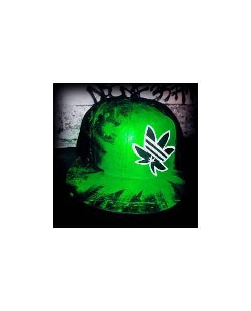 Casquette Américaine Personnalisée Cannabis Adidas