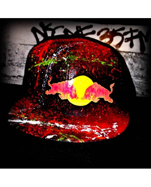 Casquette Custom Red Bull