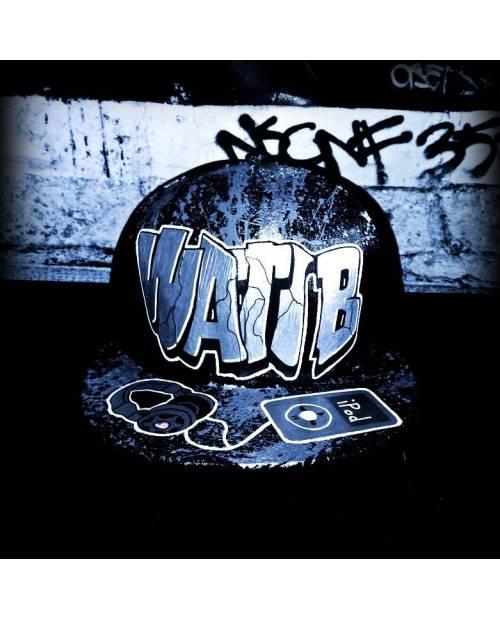 Casquette New Era Grise wati b