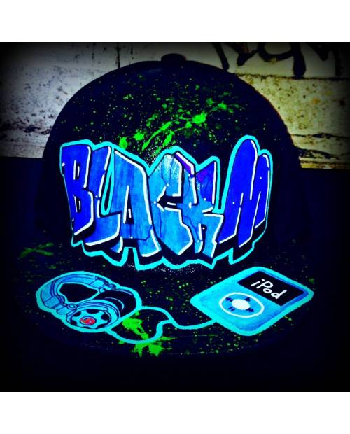 Casquette Music black M