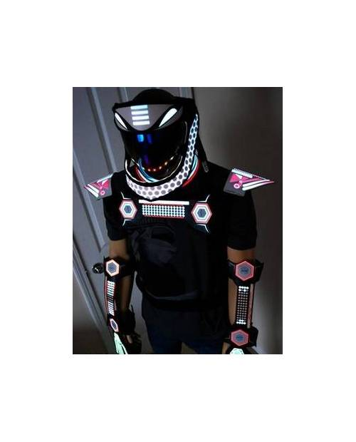 Costume Led Galaxy Homme