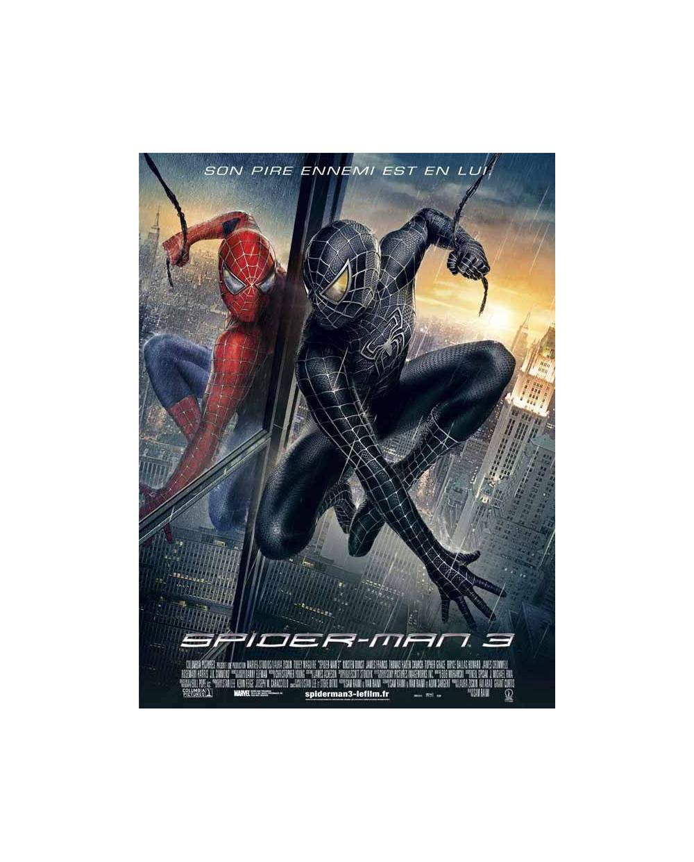 D guisement spiderman noir v nom - Spiderman noir 3 ...