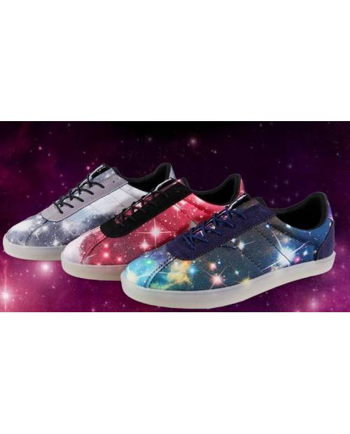 "Chaussures Phosphorescentes ""Galaxy"""