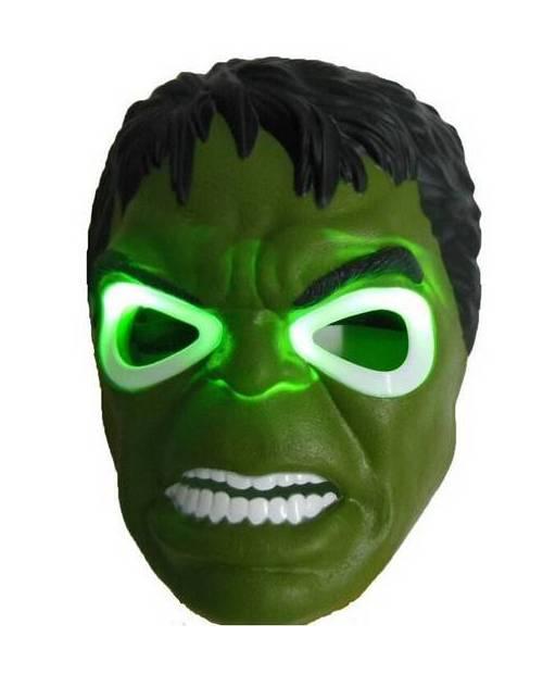 Masque Hulk Lumineux Led