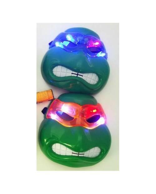 Masque Tortue Ninja Lumineux Led