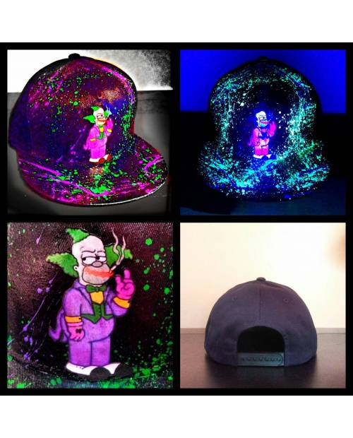 Casquette Krusty x Joker Custom