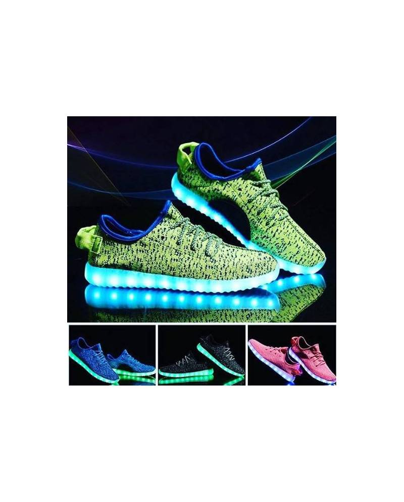 chaussure lumineuse yeezy