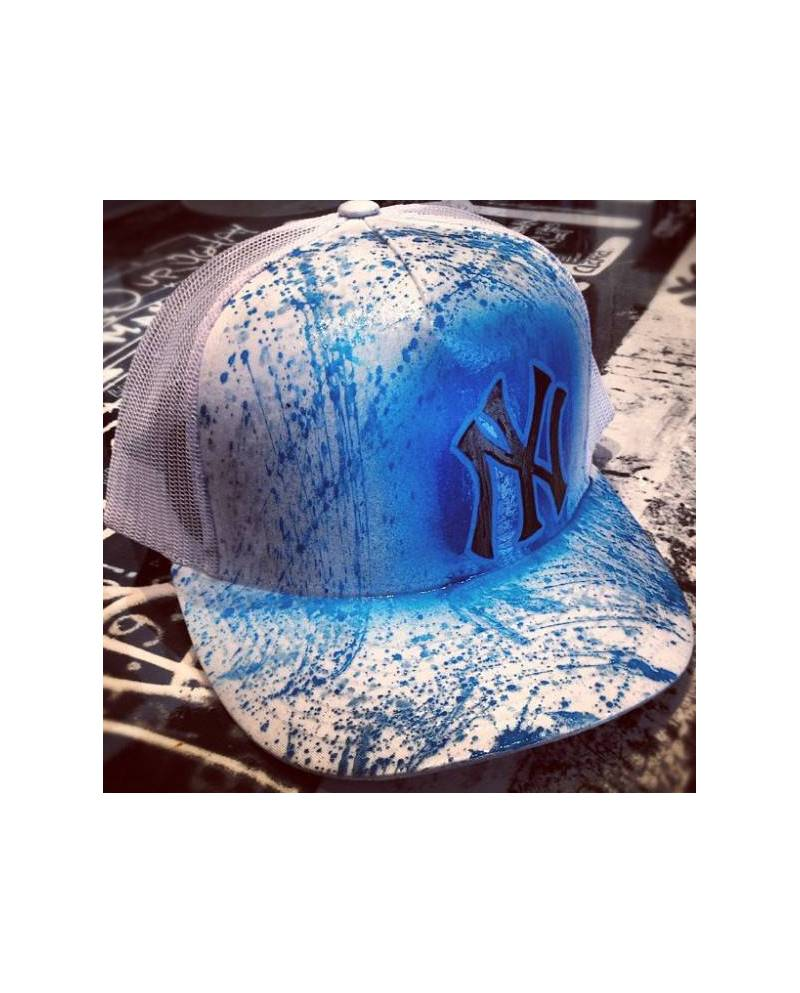 "Casquette New York ""BlueJeans"" customisable"