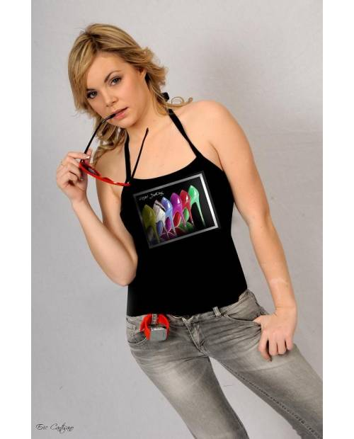 T Shirt Stilleto Electroluminescent
