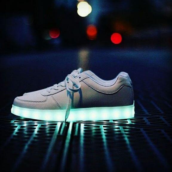 chaussure-led
