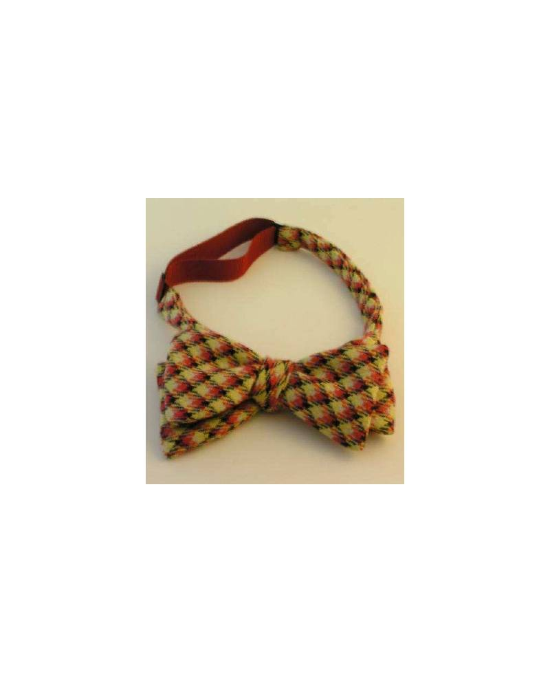 Bow Tie A Yellow And Red Tiles