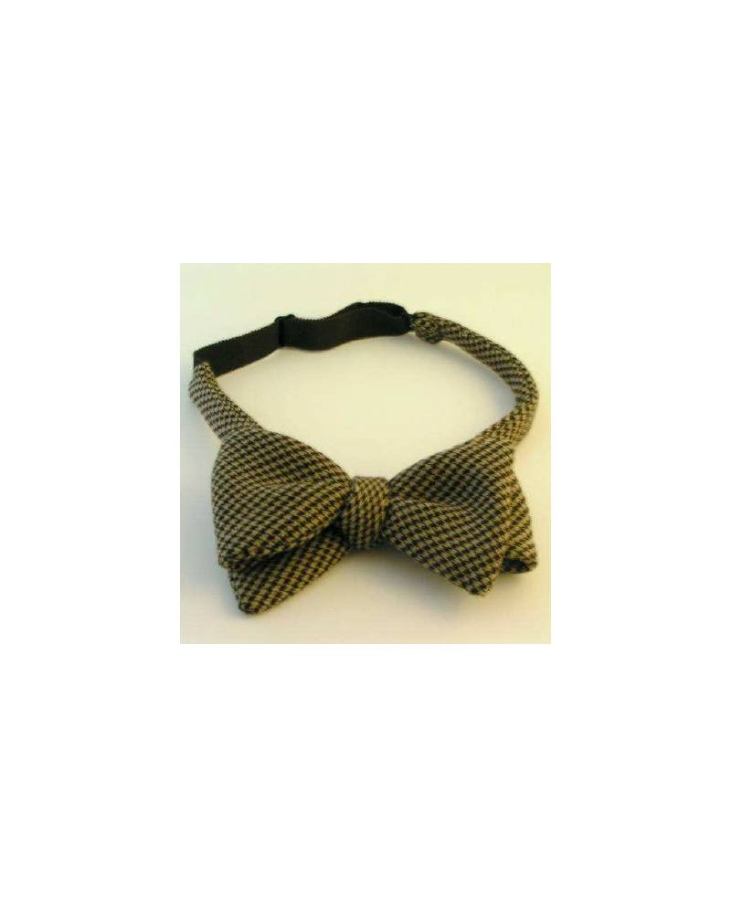 Vichy Bow Tie Black And White