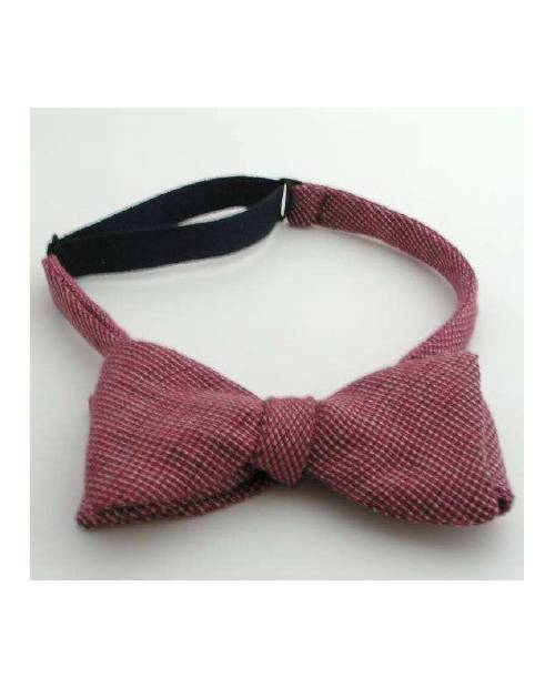 Red Bow Tie In Wool