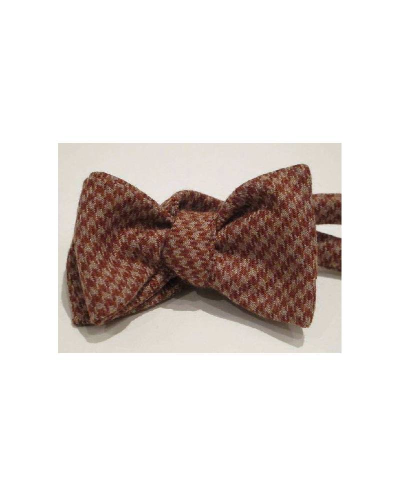 Vichy Brown And Bow Tie Grey