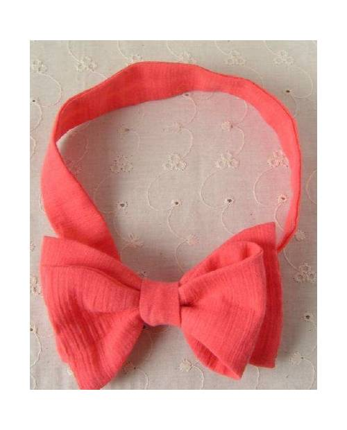 Bow Tie Fabric Coral