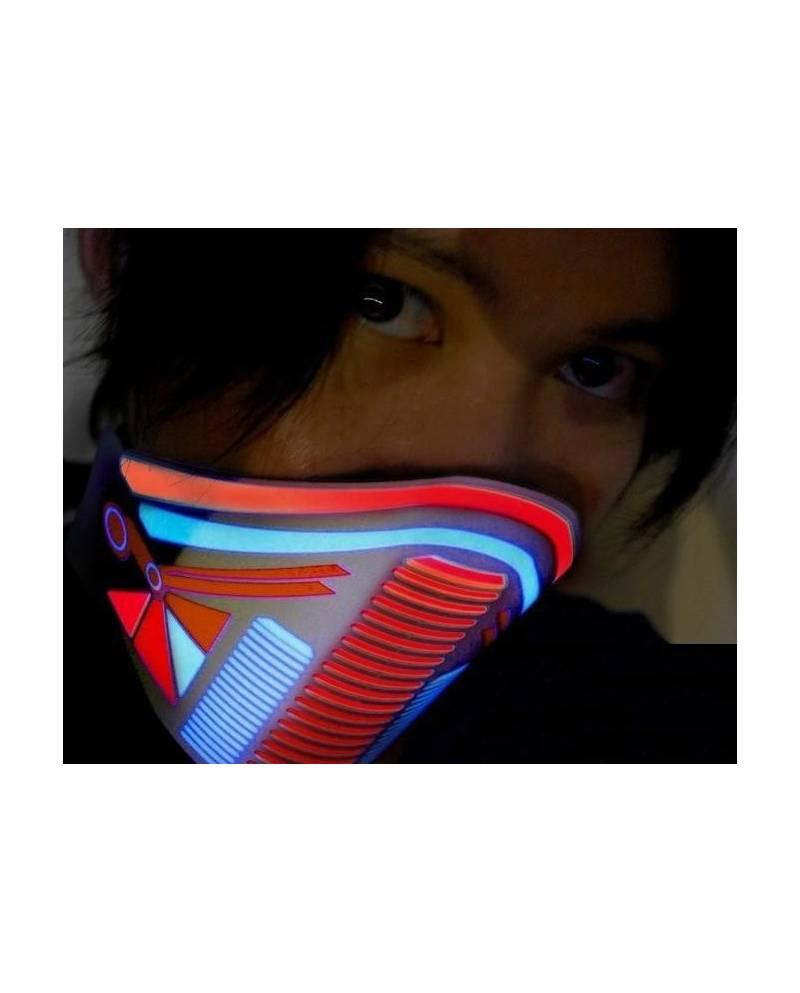 Led Gas Mask Jacking Heart