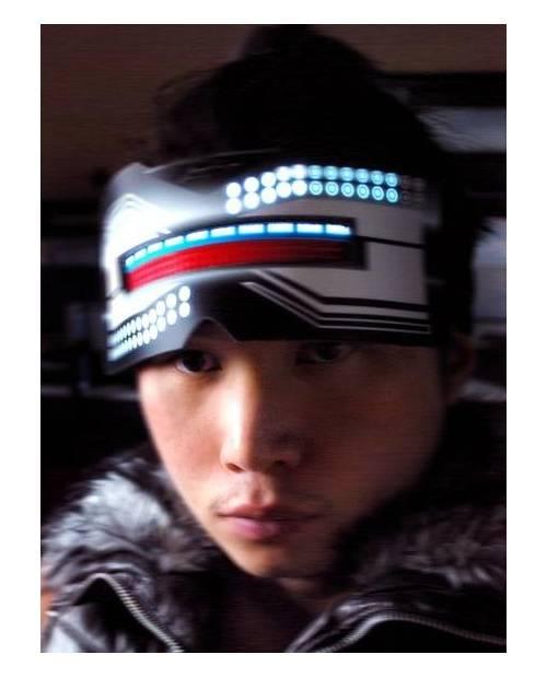 Masque Dj Lumineux Robocop