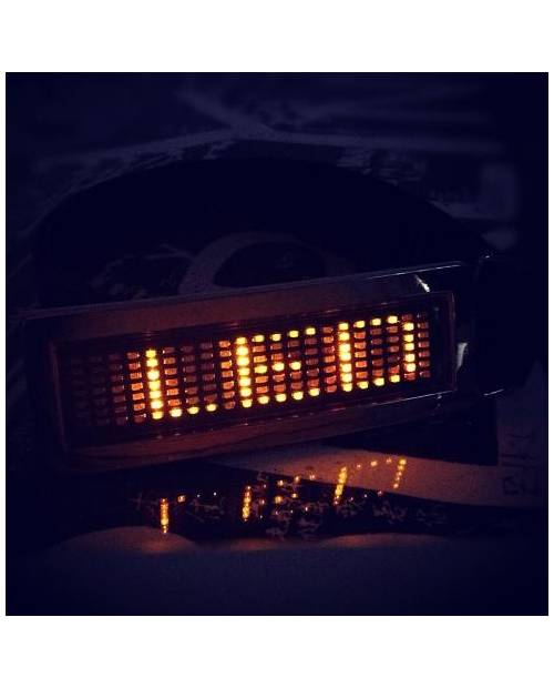 CEINTURE LED ORANGE JAUNE