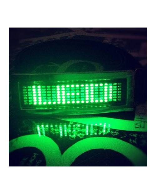Custom Led Green Belt