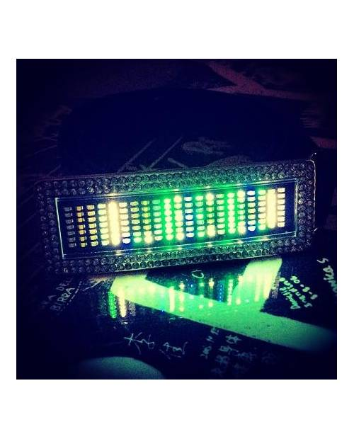 Ceinture Led Strass Multicolor