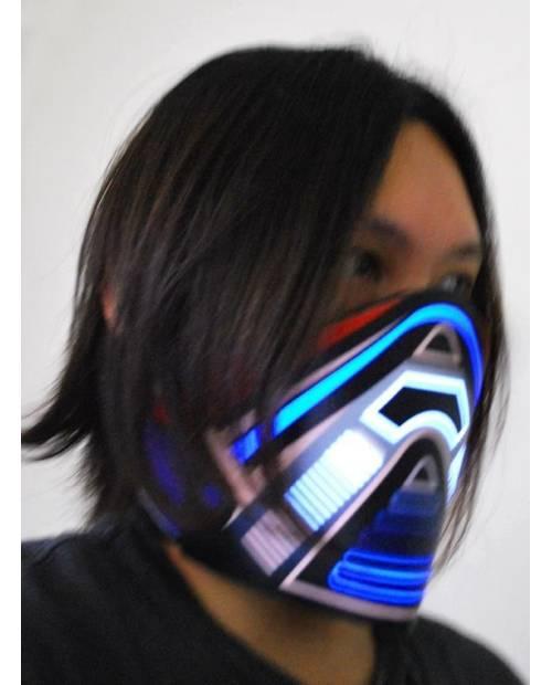 Masque Réellement Lumineux Biohazard