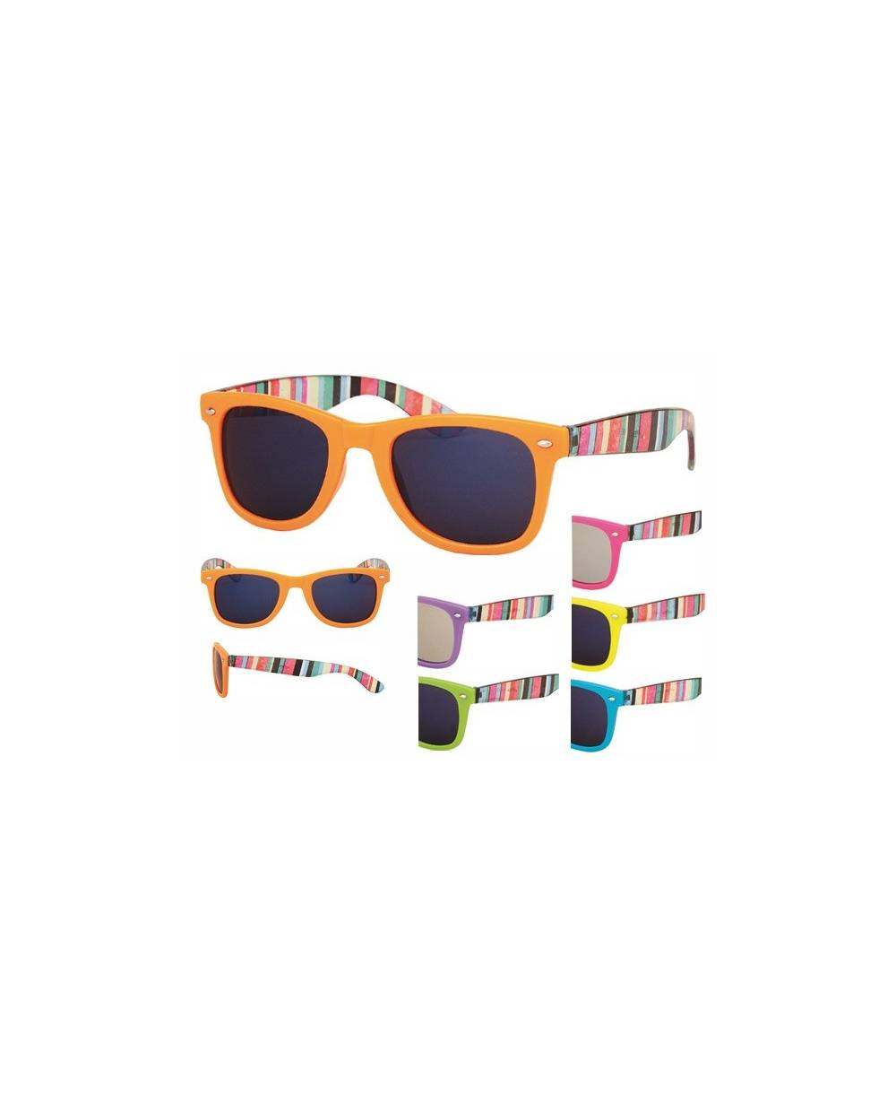 lunettes de soleil fantaisie des couleurs et motifs. Black Bedroom Furniture Sets. Home Design Ideas