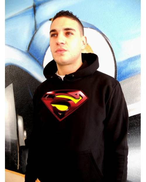 SWEAT SUPERMAN LUMINEUX