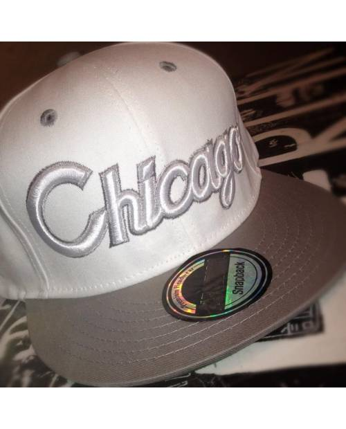 Grise snapback Chicago