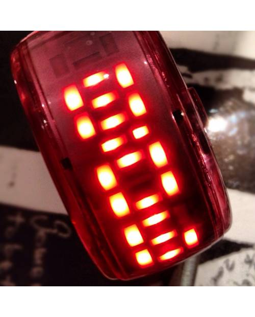 Montre Bracelet Rouge Led Rouge