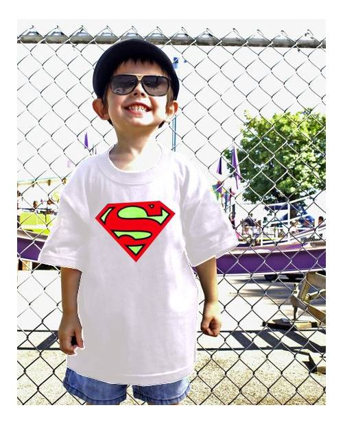 EQUALIZER T SHIRT SUPERMAN CHILD WHITE