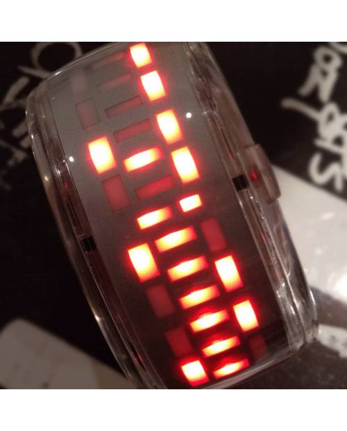 Transparent Bracelet Watch