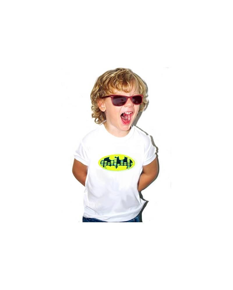 EQUALIZER WHITE T SHIRT BATMAN CHILD