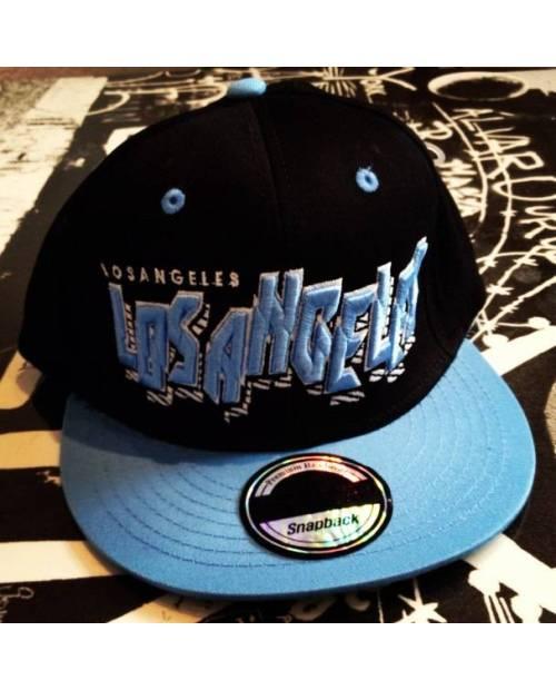 Casquette Brodée Los Angeles Bleu
