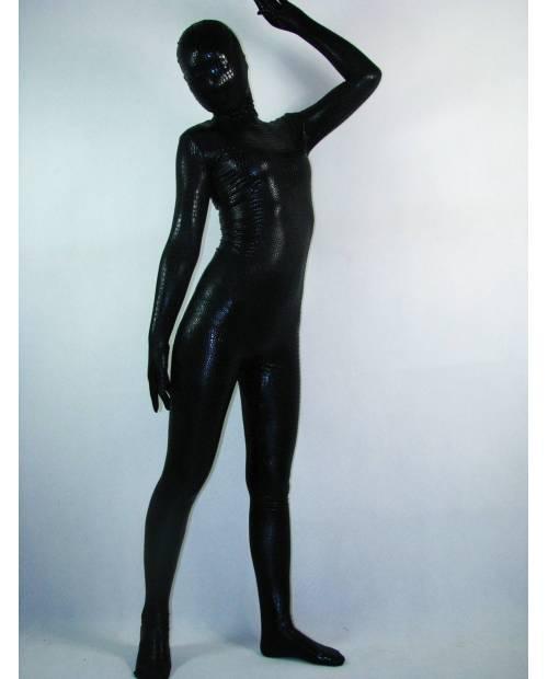 Combinaison Zentai Noir Intégrale
