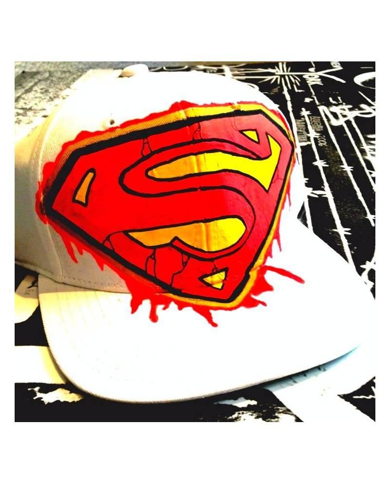Casquette Blanche Superman