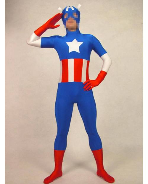 Morphsuits Captain America