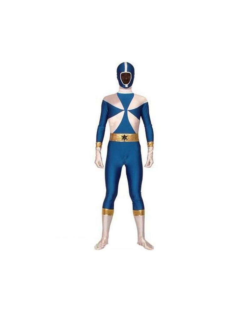 Morphsuit Power Ranger Bleu