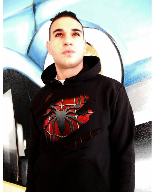 Spiderman Black Sweat